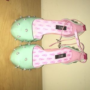 Iron fist ice cream shoes size 9